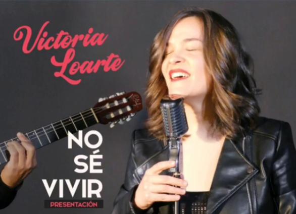 Poster del concierto Victoria Loarte en Madrid (CANCELADO)