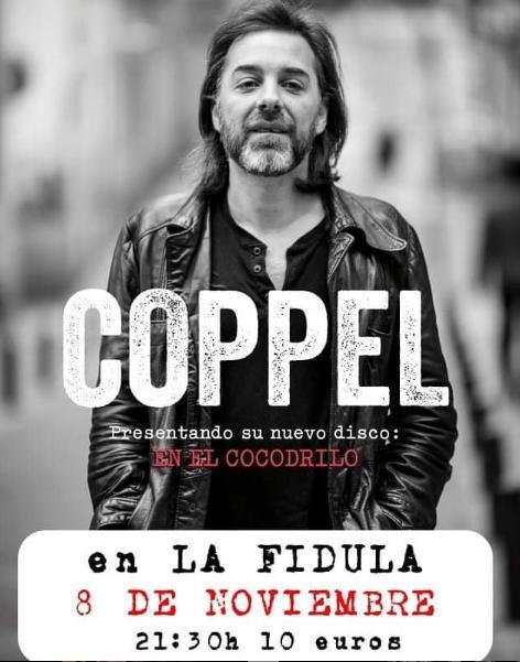 Poster del concierto Iñigo Coppel en la Fidula