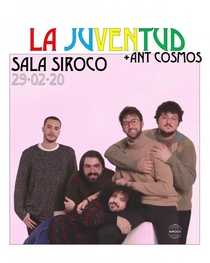Poster del concierto La Juventud en Sala Siroco, Madrid